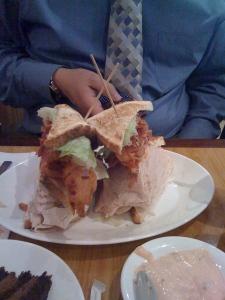 Carnegie Deli Sandwich