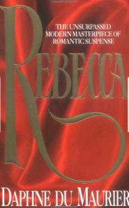 Book cover for new edition of Rebecca