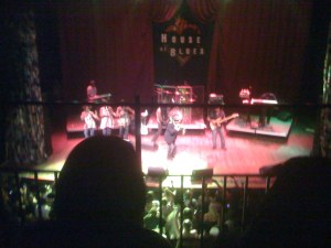 Beres Hammond at House of Blues, Da