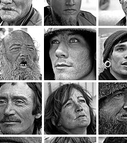 Tom Stone's Photos of Homeless in SF