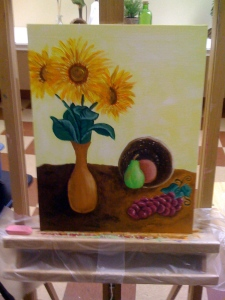 Kelly's Painting, part 2